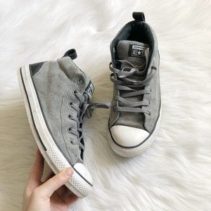 CONVERSE All Star Chuck Taylor Gray Suede High Top